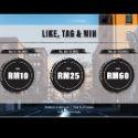 Win a Cash Voucher worth RM60