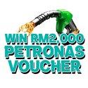 Win a RM2,000 Petronas Voucher